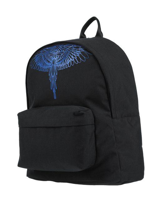 Marcelo Burlon Black Backpacks & Bum Bags for men