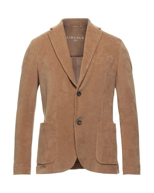 Circolo 1901 Natural Suit Jacket for men