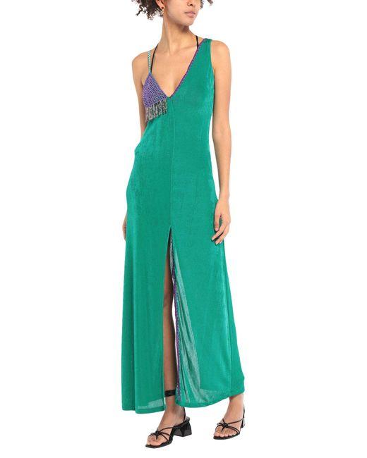 ME FUI Green Beach Dress