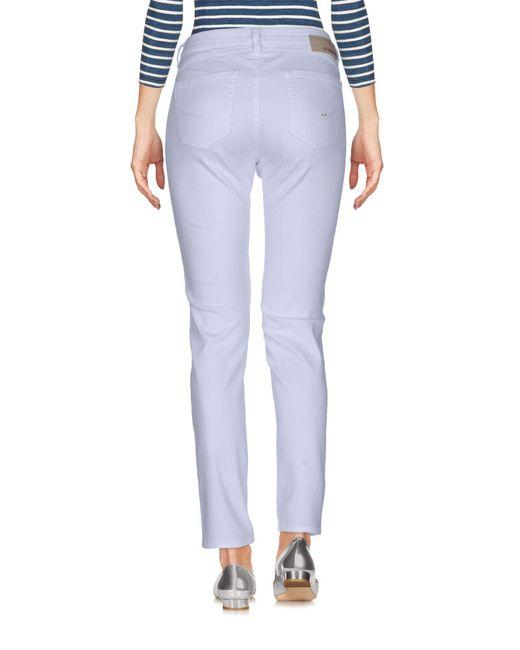 Pinko White Denim Pants