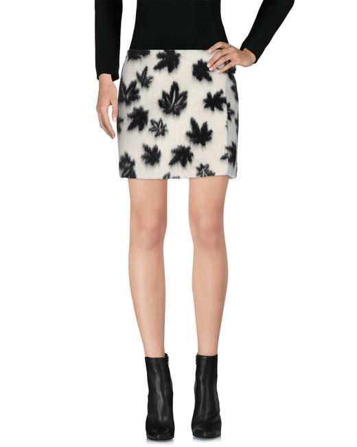 Alexander Wang White Mini Skirt
