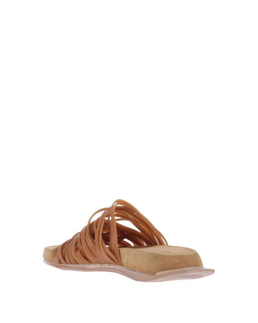 Rick Owens Brown Sandals for men