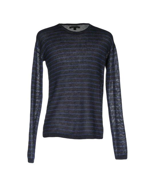 Pullover John Varvatos pour homme en coloris Blue
