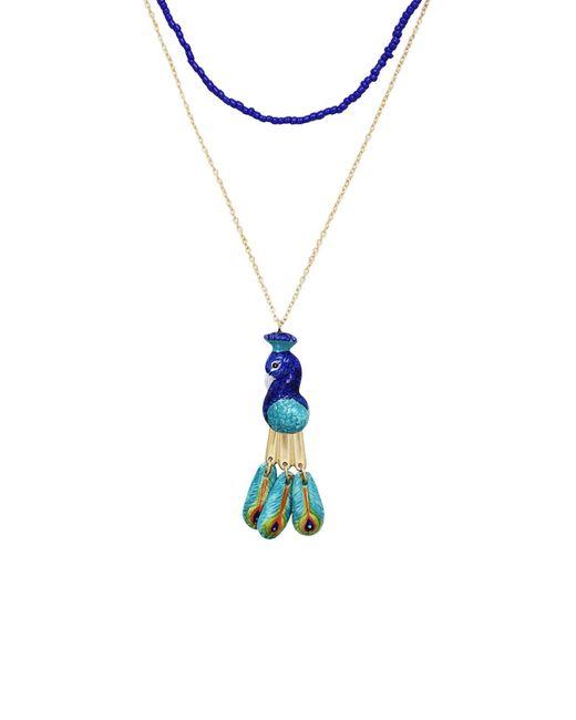 Nach Blue Necklace