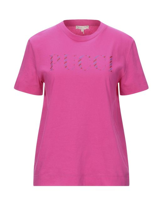 Emilio Pucci Pink T-shirt