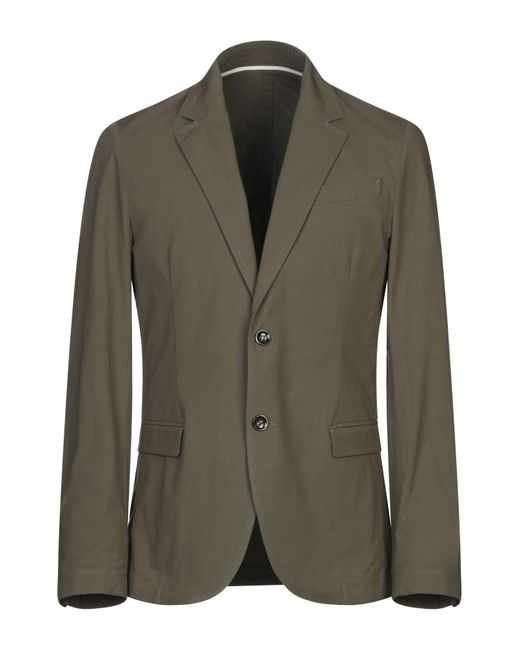 Paolo Pecora Green Suit Jacket for men