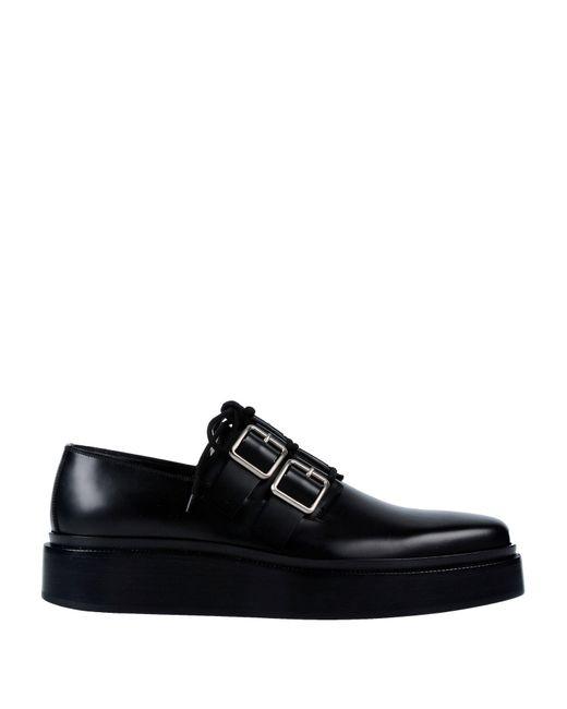 8dbd8cc11ca Jil Sander - Black Lace-up Shoe for Men - Lyst ...