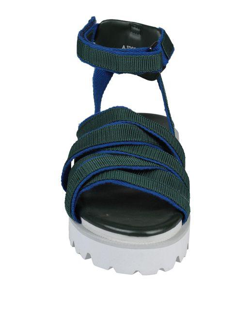 Sandalias Zucca de color Green