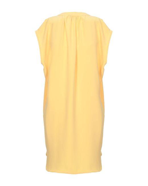 Paul & Joe Yellow Kurzes Kleid