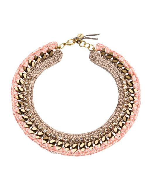 First People First Pink Necklace