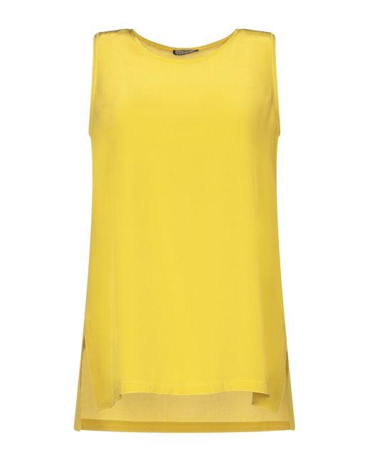 Top Maliparmi de color Yellow