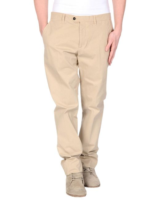 Ports 1961 - Natural Casual Pants for Men - Lyst