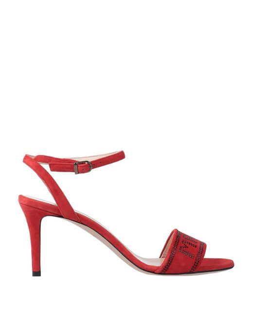 Marc Ellis Sandalias de mujer de color rojo