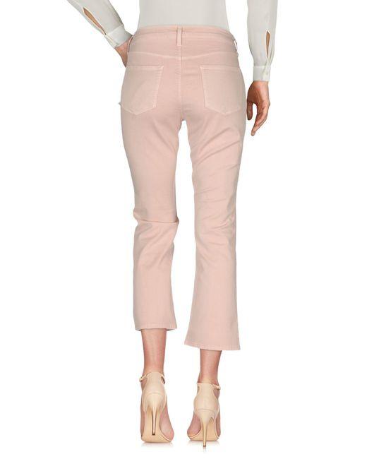 Pantalones J Brand de color Pink