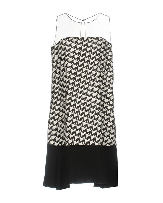 22 Maggio By Maria Grazia Severi - Black Short Dresses - Lyst