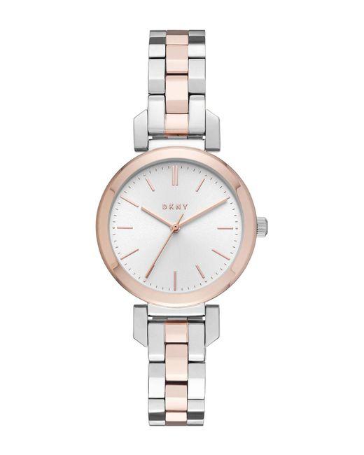 DKNY - Metallic Wrist Watch - Lyst