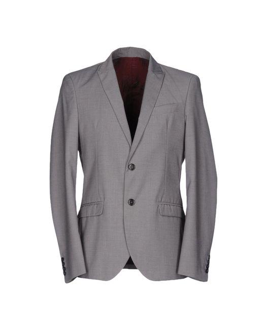 Officina 36 | Gray Blazer for Men | Lyst