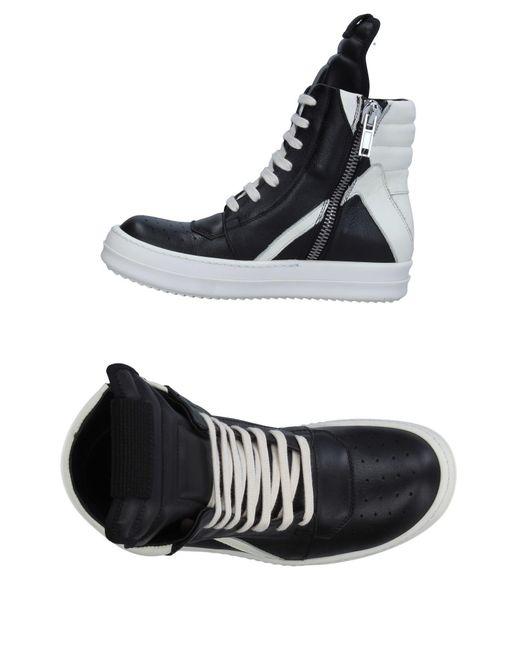 Rick Owens Black High-tops & Sneakers