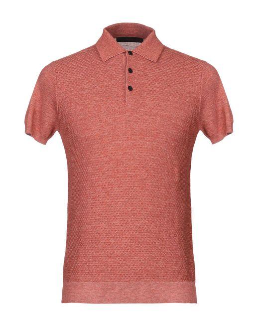Jeordie's Orange Sweater for men