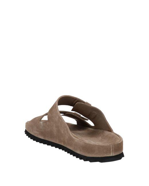 Officine Creative Natural Sandals for men