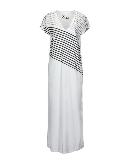 Vestito lungo di 8pm in White