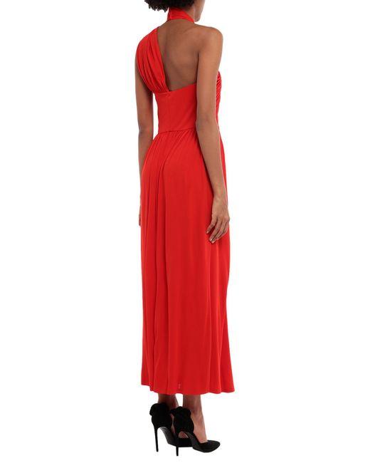 Vestito longuette di MSGM in Red