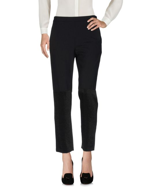 Philosophy di Alberta Ferretti - Black Casual Trouser - Lyst