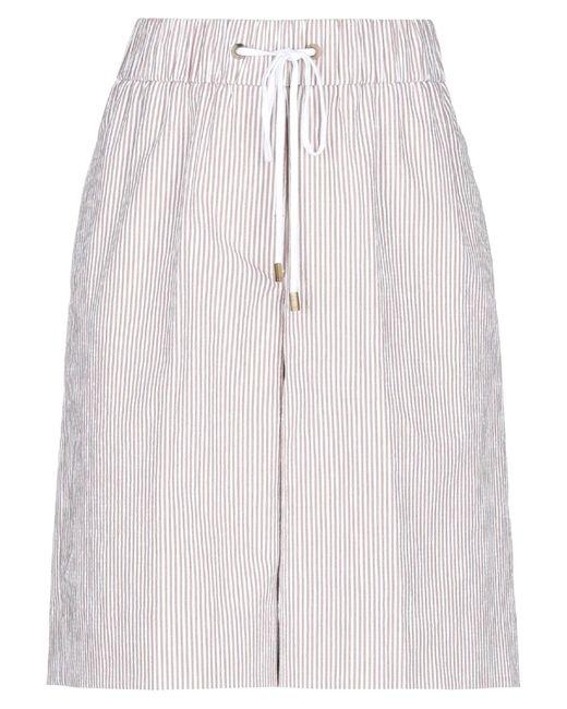 Peserico Brown Bermuda Shorts