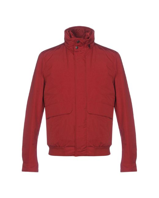 Add Red Down Jacket for men