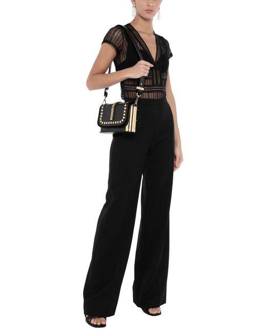 Borsa a spalla di Alberta Ferretti in Black