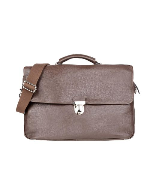 Eleventy Brown Work Bags for men