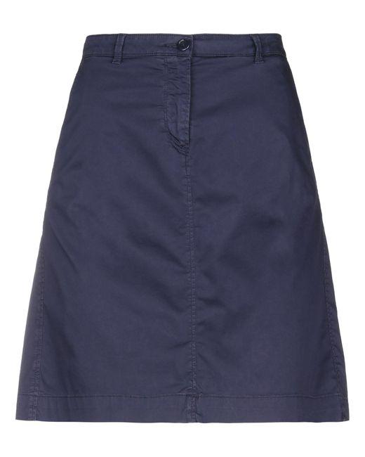 Marina Yachting Blue Knee Length Skirt