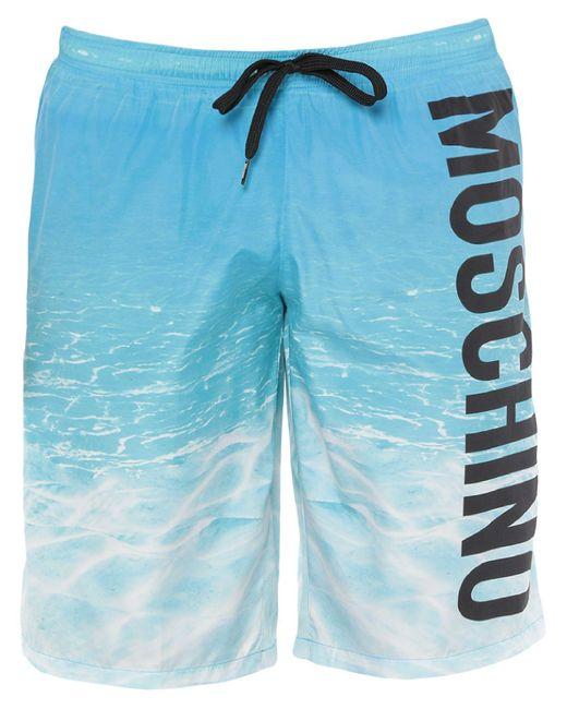 Boxer da mare di Moschino in Blue da Uomo