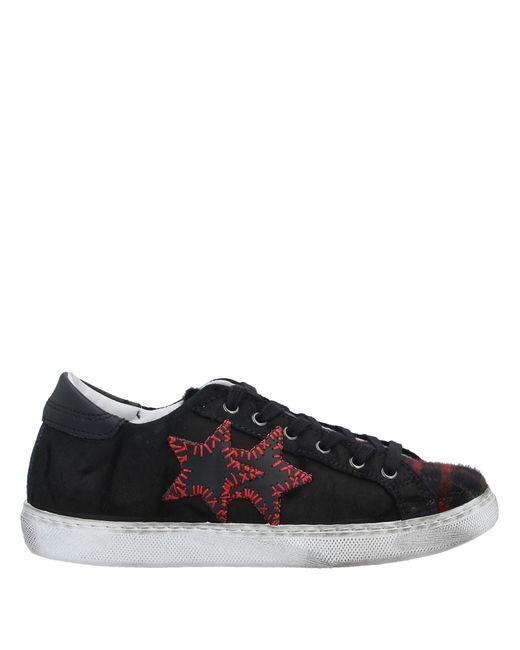 Sneakers & Tennis basses 2 Star en coloris Black