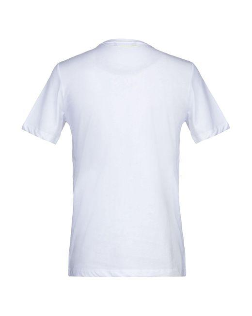 T-shirt di Gazzarrini in White da Uomo