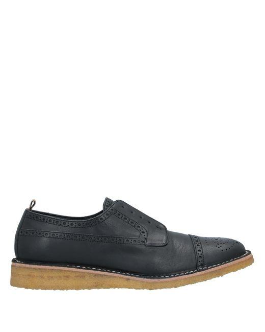 Burberry Zapatos de cordones de hombre de color negro