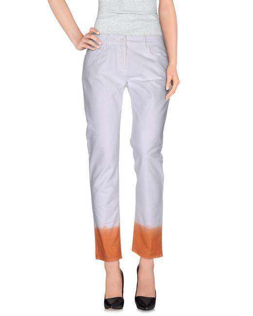 Pantalones Incotex de color White
