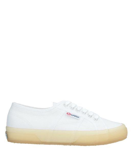 Superga Sneakers & Deportivas de mujer de color blanco