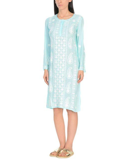 Melissa Odabash - Blue Beach Dress - Lyst