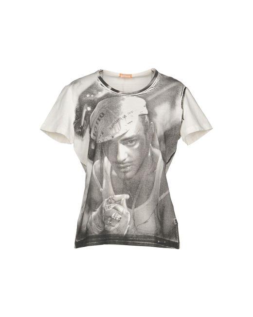 John Galliano - White T-shirt - Lyst