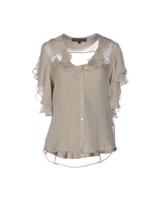 Ralph Lauren Black Label - Gray Shirt - Lyst