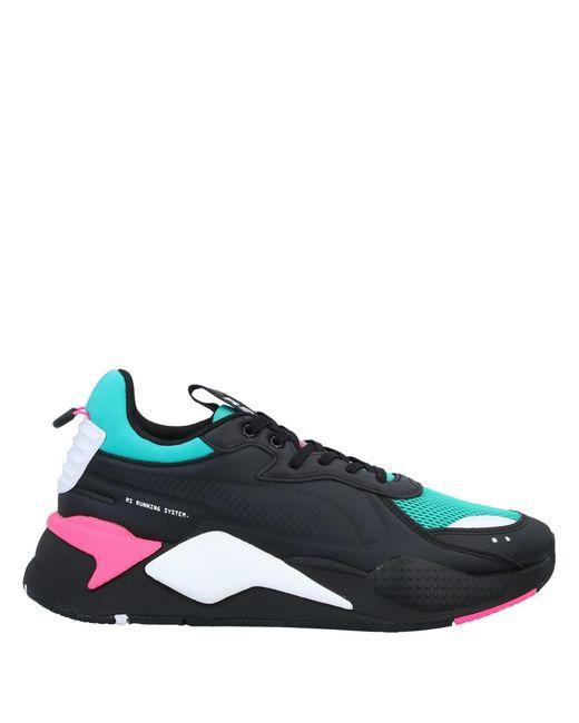 PUMA Black Low-tops & Sneakers for men