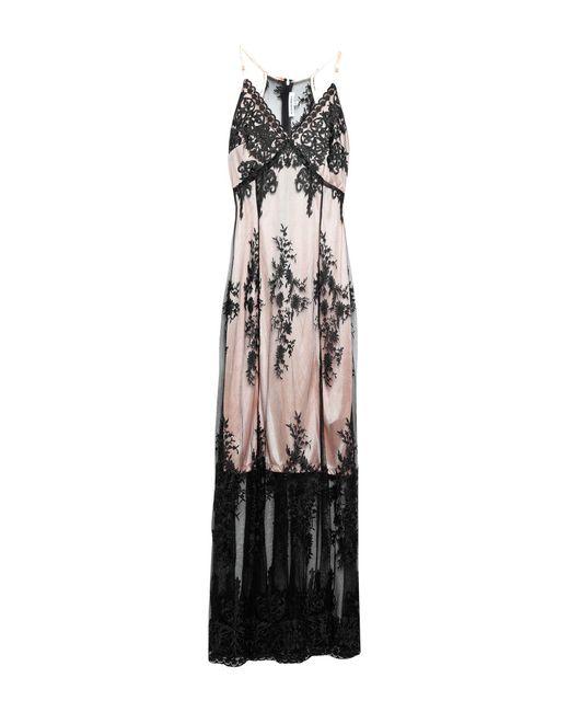 Robe longue Silvian Heach en coloris Black