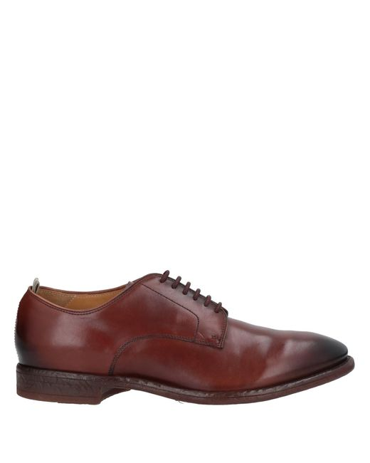 Officine Creative Brown Lace-up Shoe for men