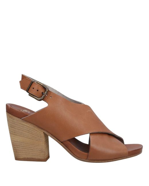 FRU.IT - Brown Sandals - Lyst
