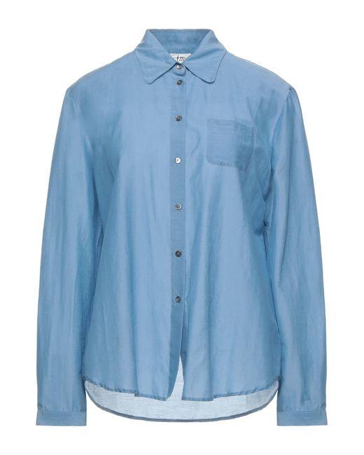 Attic And Barn Blue Shirt