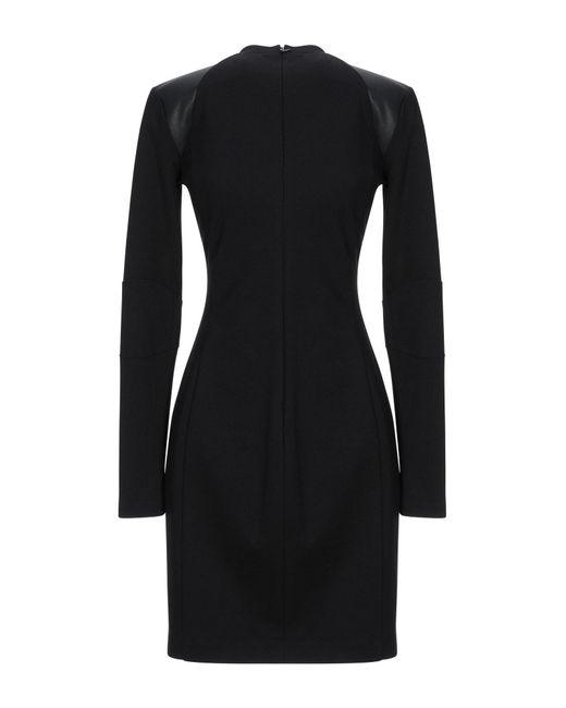 Versace Jeans Black Kurzes Kleid