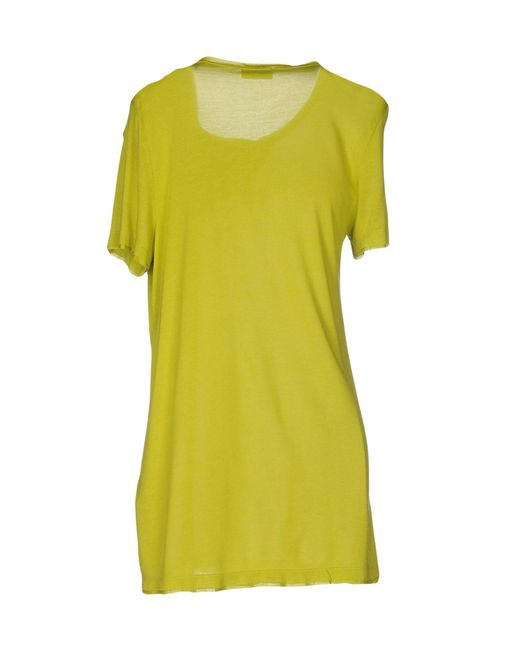 Red valentino t shirt in green lyst for Red valentino t shirt