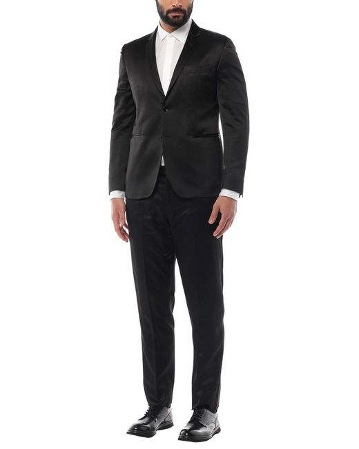 Brian Dales Black Suit for men