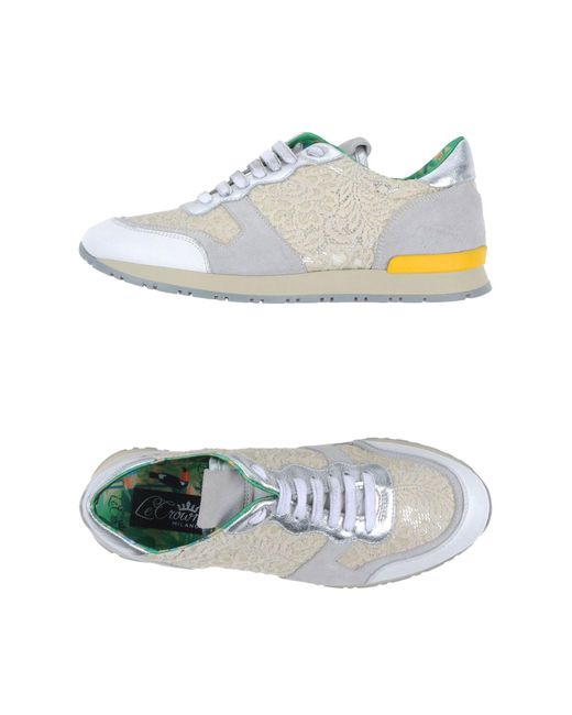 Lecrown - White Low-tops & Sneakers - Lyst
